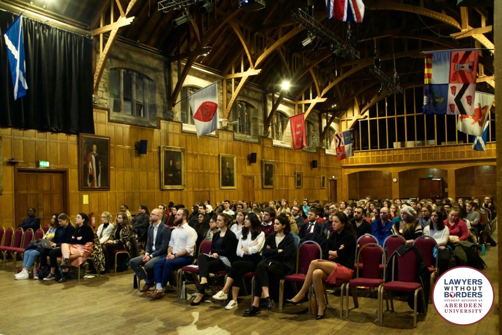 In pictures    Aberdeen human rights conference a success
