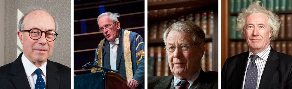 Lord Hope, Lord Cullen, Sir David Edward and Lord Sumption